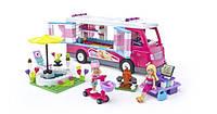 """Конструктор Barbie """"Роскошный домик на колесах"""", 305 дет. MATTEL MEGA BLOKS"""
