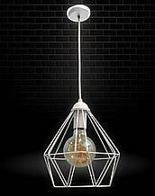 Светильник потолочный подвесной NL 0537 Electropark Е-27 Лофт белый