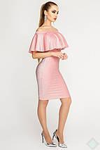 Женское платье из люрекса с воланом (Саванна люрекс leо), фото 3