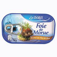 Печень трески Les Doris 120 г ( Франция )