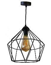 Светильник потолочный подвесной NL 0537 Electropark Е-27 Лофт черный