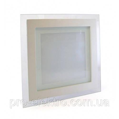 Точечный светодиодный светильник Glass Rim Metal 18W; 1250Lm; Белый 1009562