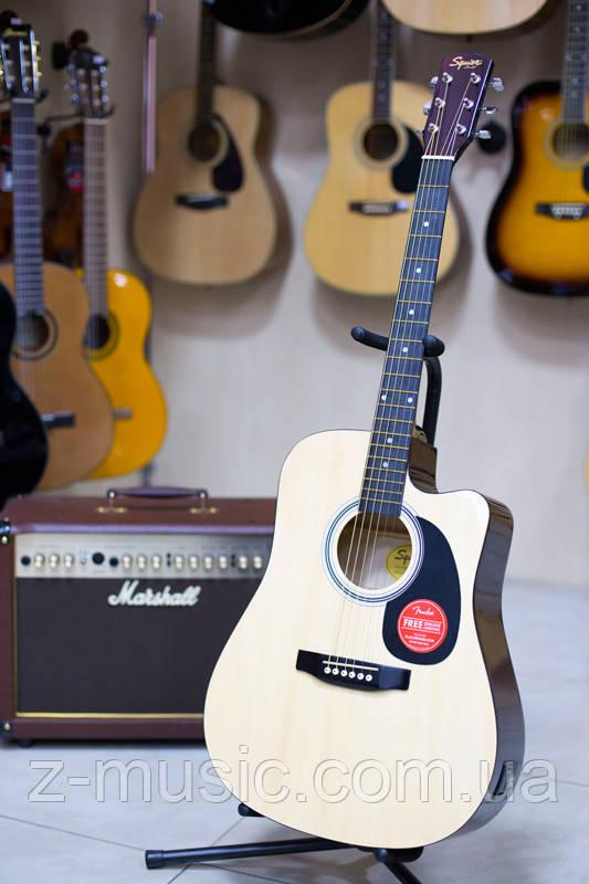 Електроакустична гітара Fender Squier SA-105CE Nat + кабель 3м