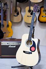 Электроакустическая гитара Fender Squier SA-105CE Nat + кабель 3м