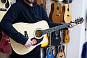 Электроакустическая гитара Fender Squier SA-105CE Nat, фото 8