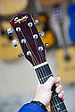 Електроакустична гітара Fender Squier SA-105CE Nat + кабель 3м, фото 5