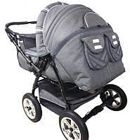 Детская коляска трансформер для двойни Trans baby Taurus Duo 06