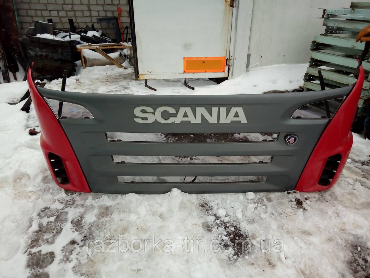 Капот Sania R420-480