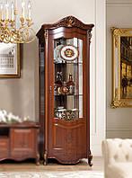 Шкаф- витрина левая Аллегро-3 СлонимМебель орех