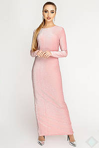 Женское платье-макси из люрекса (Терра люрекс leo)