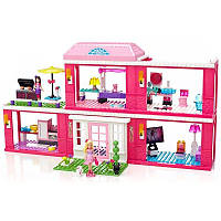 Mega Bloks Barbie Конструктор Дом-особняк
