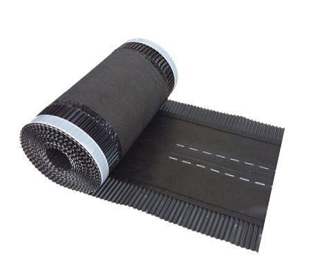 Коньковая вентиляционная лента  WA-BIS M ROUL 300 х 5000 мм Черный (0785)