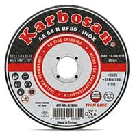 Круг отрезной по нержавеющей стали 150х1,6х22 Karbosan