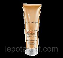 Термозахисний крем для сухого волосся l'oreal professionnel NUTRIFIER BLOW DRY CREAM, 150 мл.