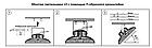 Светильник Светодиодный LightOffer LO HBU 240W 5000K с кронштейном  90°, фото 3