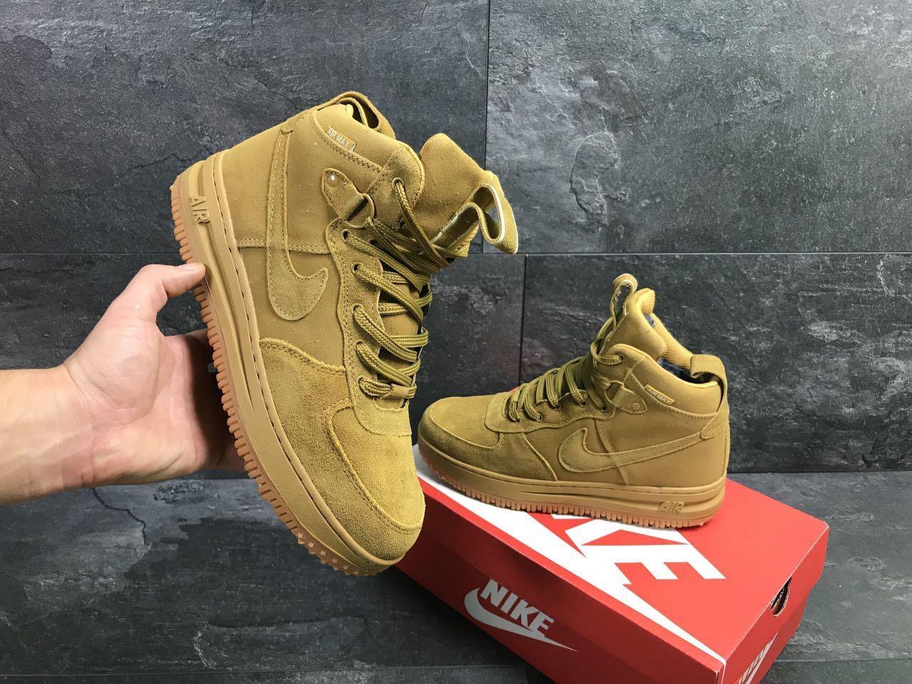 dc25ee2e Мужские зимние кроссовки Nike AIR Замша : продажа, цена в ...