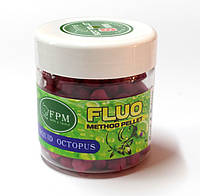 Soft Method Pellet Fluo FPM Baits® 8 mm 50 g в банке Squid-Octopus Кальмар