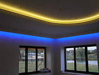 Интерьерная светодиодная подсветка. Проектирование и монтаж.