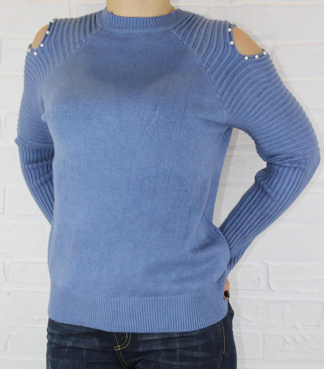 Кофта женская ZUR 1225 голубая