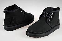 Мужские UGG Classic Men Boots Угг черные замша