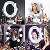 Подарок для девушки-Зеркало для макияжа черное, фото 3