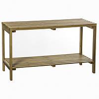 Бамбуковая полка для ванной, стеллаж полками, стеллаж в скандинавском стиле, полка из бамбука,                     мебель из бамбука, мебель для