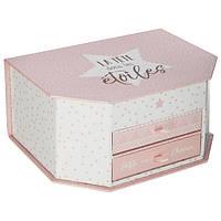 Органайзер для украшений в стиле гламур, коробка для ювелирных изделий, декоративная коробка,                     футляр с зеркалом, шкатулка с