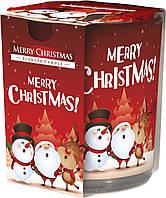 Свеча ароматическая Bispol С Рождеством Христовым 27284