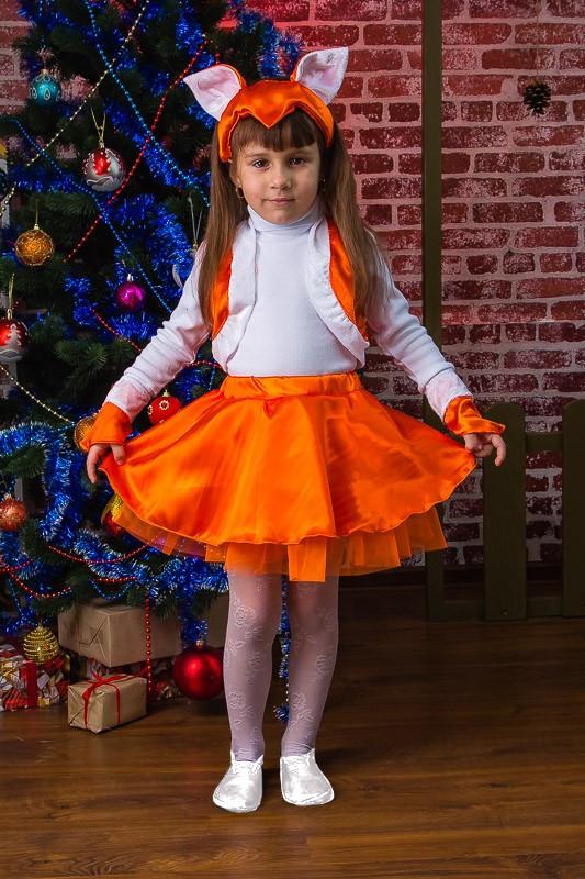 Новорічний костюм Лисиця Лисичка 98 см, 110 см