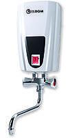 Водонагреватель электрический проточный ELDOM, кран 5000 W (3500+1500), фото 1