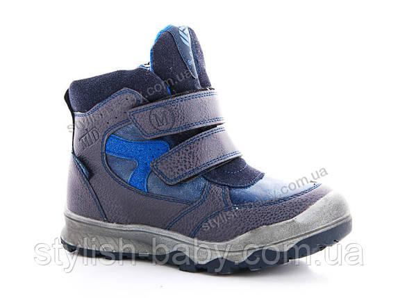 Новая коллекция зимней обуви оптом 2018. Детская зимняя обувь бренда Солнце для мальчиков (рр. с 33 по 38), фото 2
