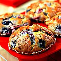 Кексы с ягодами - 90 грамм