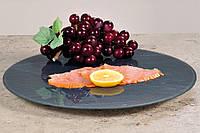 Декоративная вращающаяся тарелка из стекла, вращающаяся тарелка, поднос под пирожное, поднос под                     фрукты, тарелка для закусок,