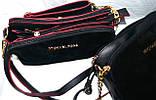 Брендовые клатчи из нат.замша на 3отд. Zara (3 цвета)18*22см , фото 3