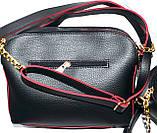 Брендові жіночі з нат.замша на 3отд. MK, Zara (2 кольори)18*22см, фото 4