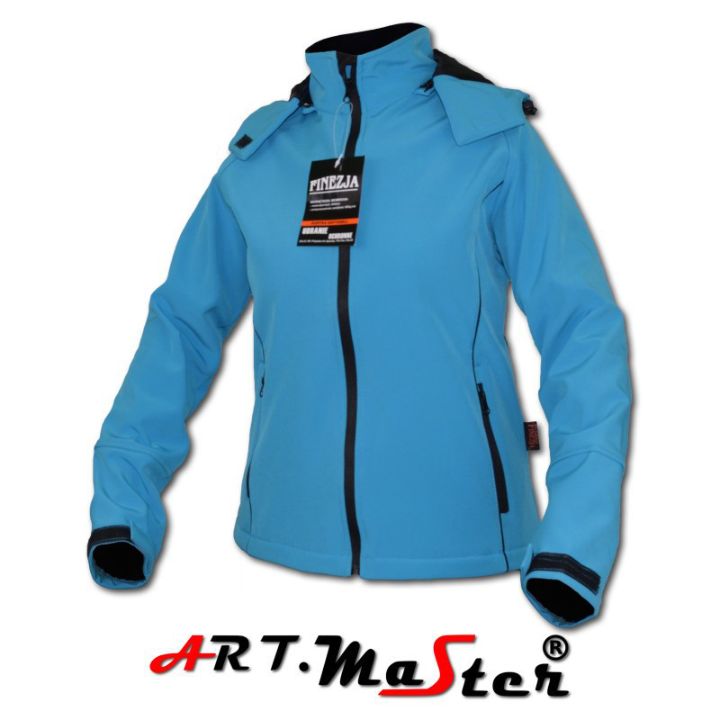 Куртка зимняя ARTMAS синего цвета FINEZJA Softshell blue