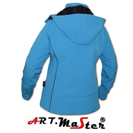 Куртка зимняя ARTMAS синего цвета FINEZJA Softshell blue, фото 2