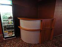Барная стойка (торговая мебель для магазинов и кафе) (R-17)