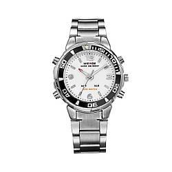 Часы наручные Weide White WH843-2C SS