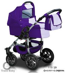 Детская коляска универсальная 2 в 1 Trans baby Jumper 115/19