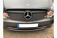 Зимова накладка заглушка захист радіатора Mercedes Vito W639 2010-2015