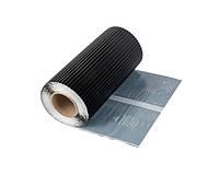 Лента для обработки примыкания ABWERG ALU STANDART 300 x 5000 мм Черный (0925)
