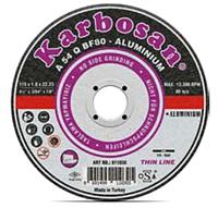 Круг отрезной по алюминию 125х1,6х22 Karbosan