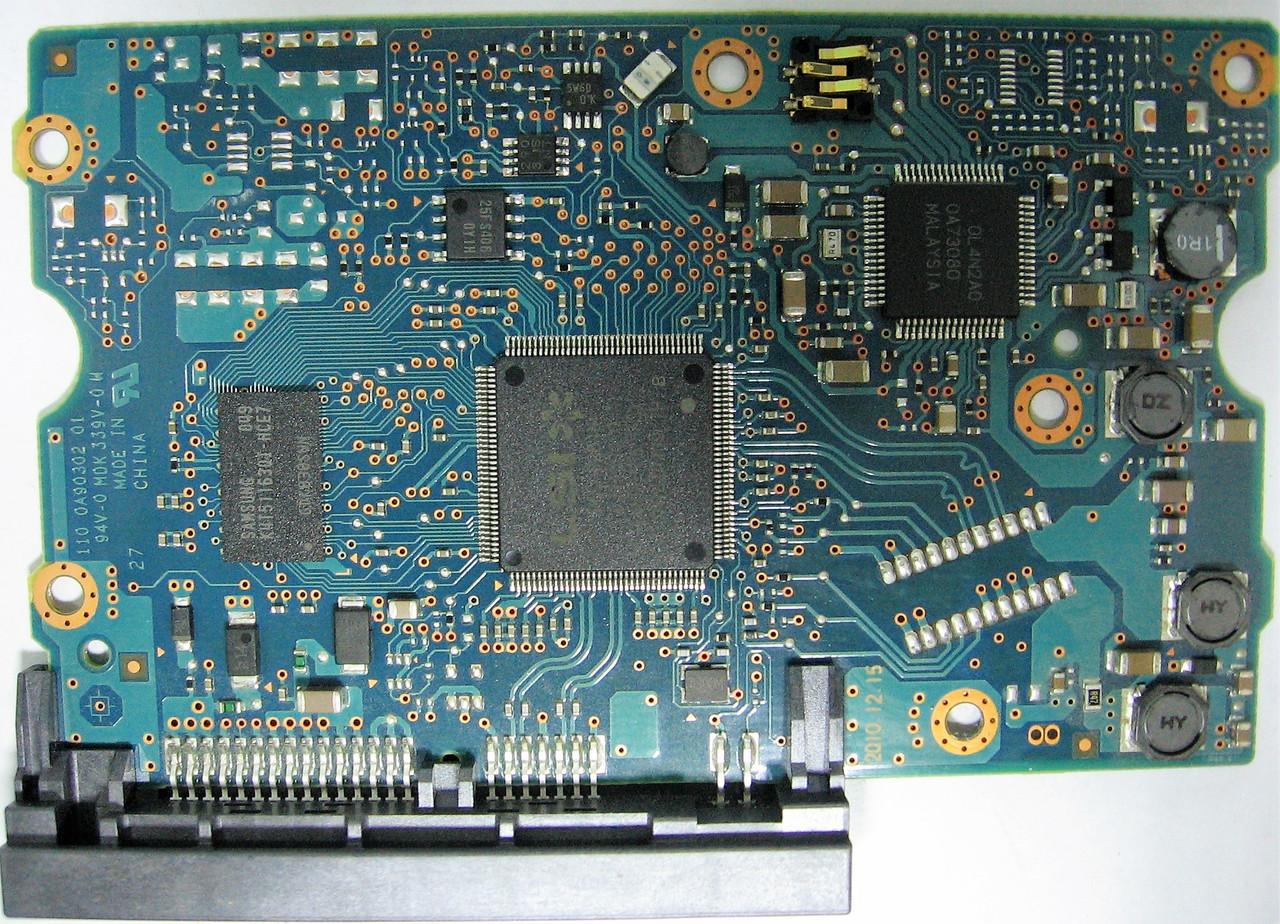 Плата HDD 1.5TB 7200rpm 64MB SATA III 3.5 Hitachi HDS723015BLA642 0A90302