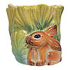 Цветочный горшок Заяц в капусте, фото 2