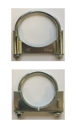 U-подібний хомут для труби d=75mm