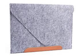 Фетровый чехол-конверт Gmakin для Macbook Pro 13 New GM1013New, КОД: 196758