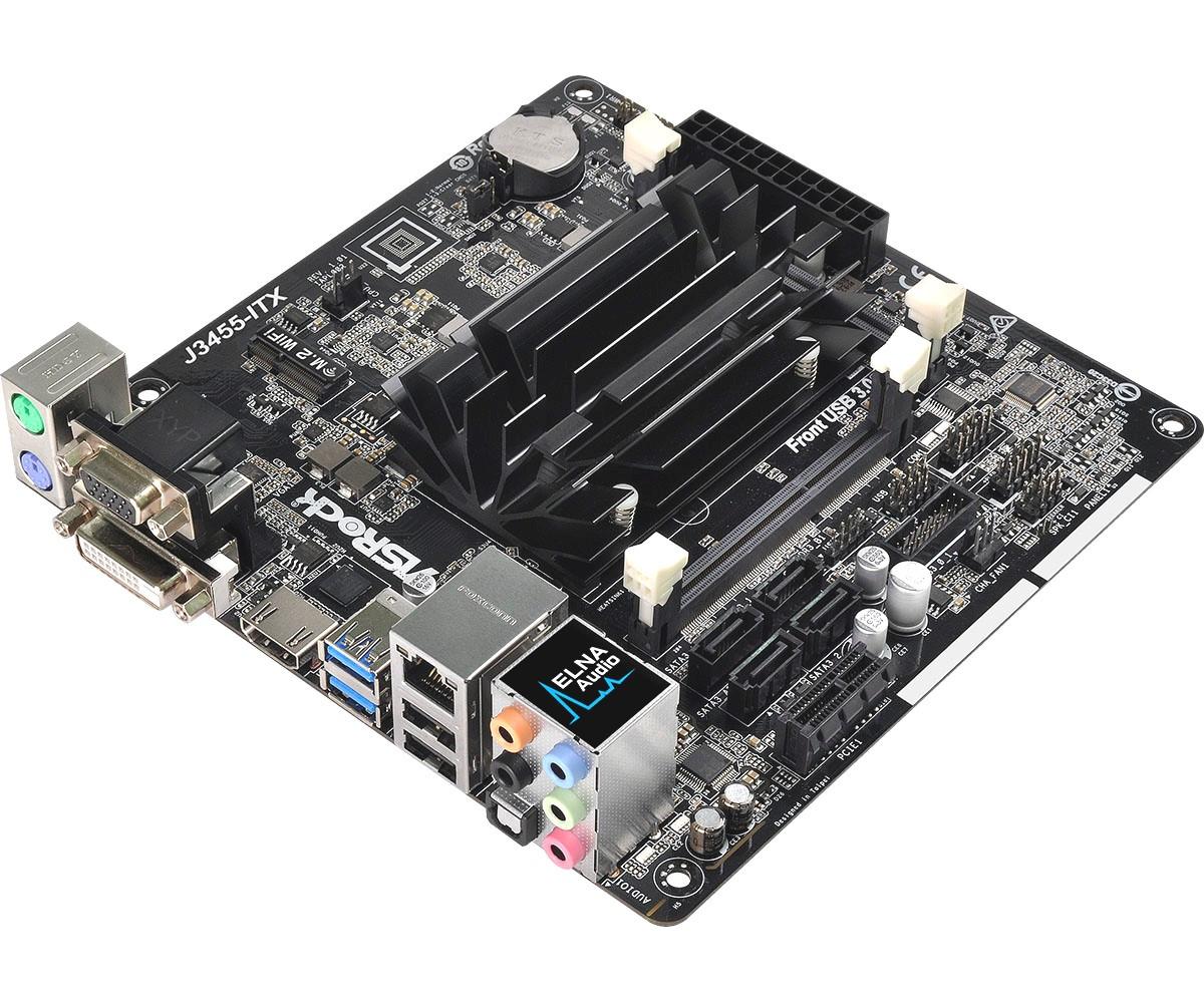 Материнская плата ASRock J3455-ITX (J3455/DDR3 SO-DIMM)