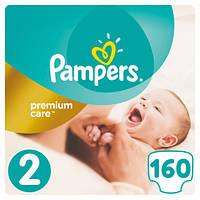 Подгузники Pampers Premium Care New Baby 2 (3-6 кг) Mega Pack 160 шт.