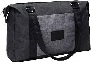 Сумка Bagland Fashion 19 л. Чёрный/серый (0030569), фото 2